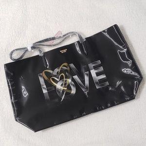 NWT Victoria's Secret Love Tote Bag